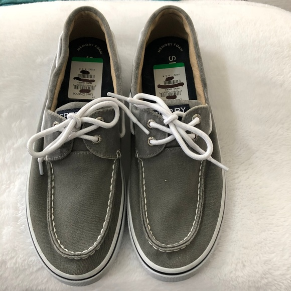 Sperry Other - NWT Mens Sperry Canvas Boat Shoes 9.5M